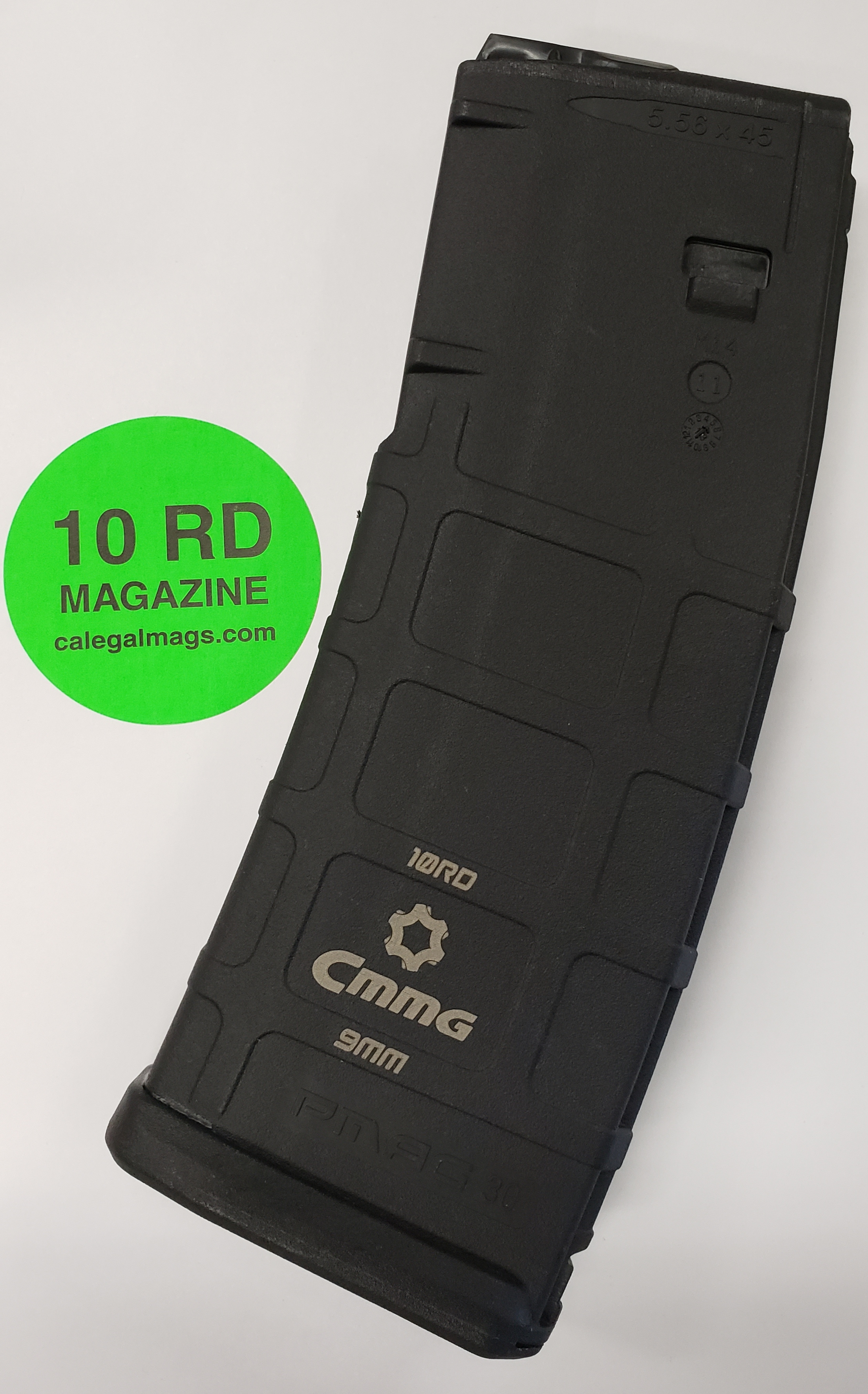 CMMG 9AR CONVERSION 10RD MAGAZINE