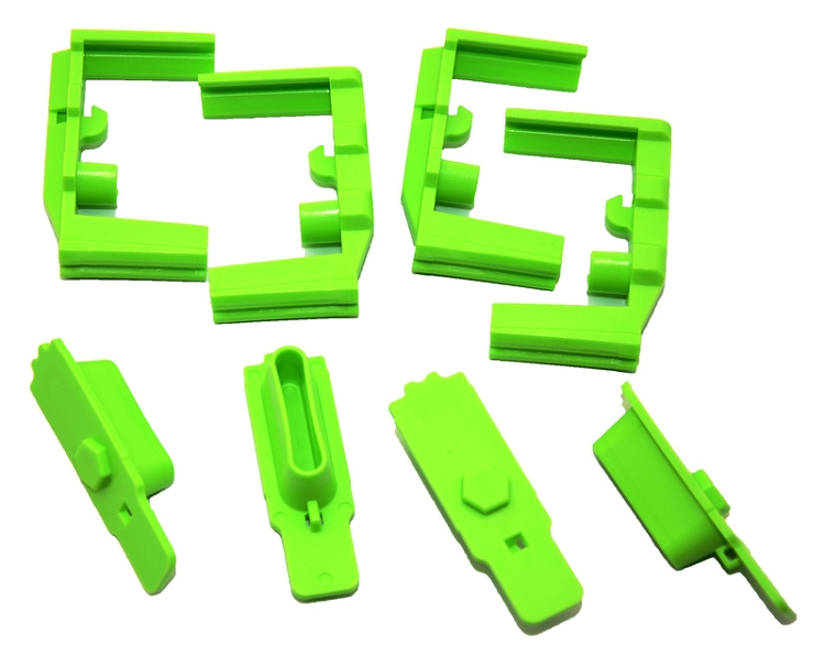 Hexmag HexID Zombie Green Magazine Follower / Latch Plate (4 Pack)