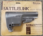 MFT Battlelink Utility Low Profile Stock (Milspec) Gray