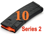 10/30 HEXMAG Series 2 AR15 Magazine BLACK *10 PACK*