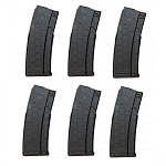 10/30 HEXMAG Series 2 AR-15 Magazine BLACK *6 PACK*