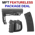 MFT Featureless Package Deal - Stock / Grip / Magazine