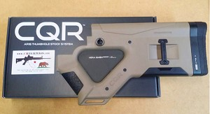 HERA CQR AR-15 Featureless Stock *CA Version* Tan