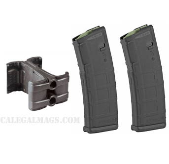 10/30 Magpul M2 MOE Pmag (x2) + MagLink Coupler COMBO DEAL