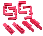 Hexmag HexID Panther Pink Magazine Follower / Latch Plate (4 Pack)