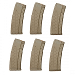 10/30 HEXMAG AR-15 Magazine FDE *6 PACK*