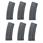 10/30 HEXMAG AR-15 Magazine GRAY *6 PACK*